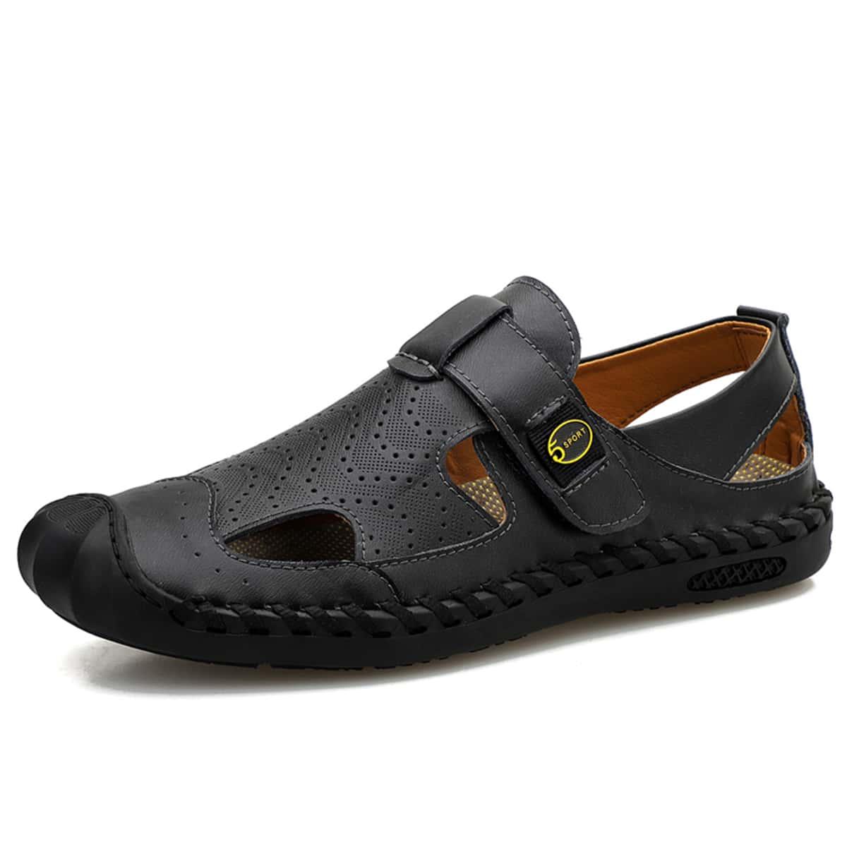 SHEIN Mannen uitgesneden sandalen