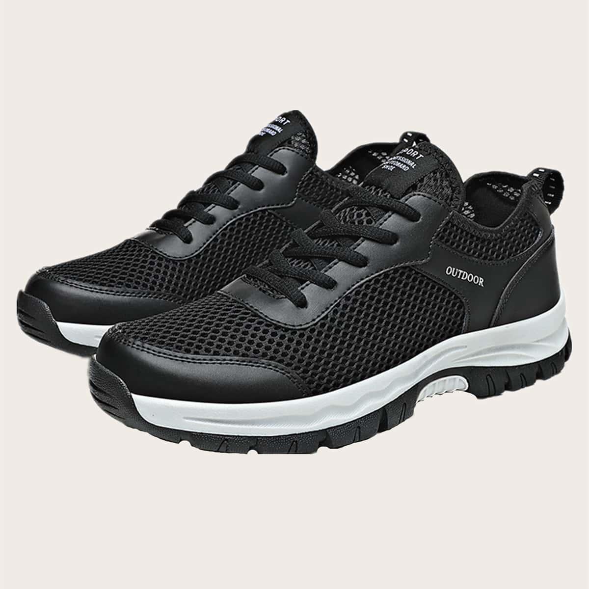 SHEIN Kant Tekst Sneaker man