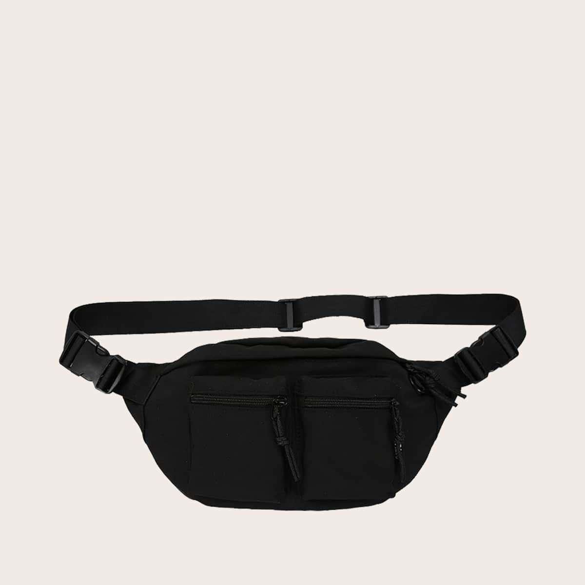 SHEIN Heuptasje voor heren met zak aan de voorkant