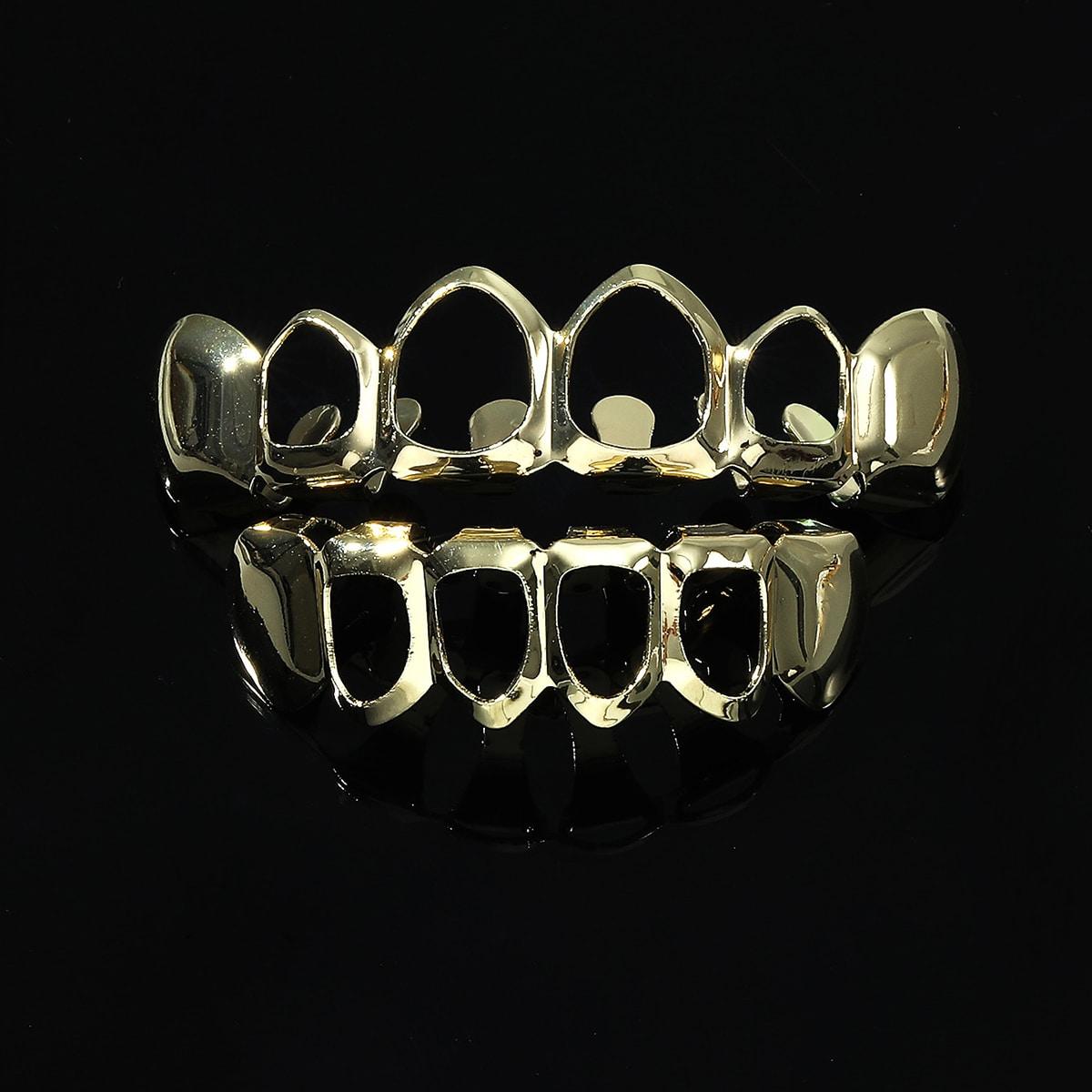 1pair Men Metallic Braces Jewelry