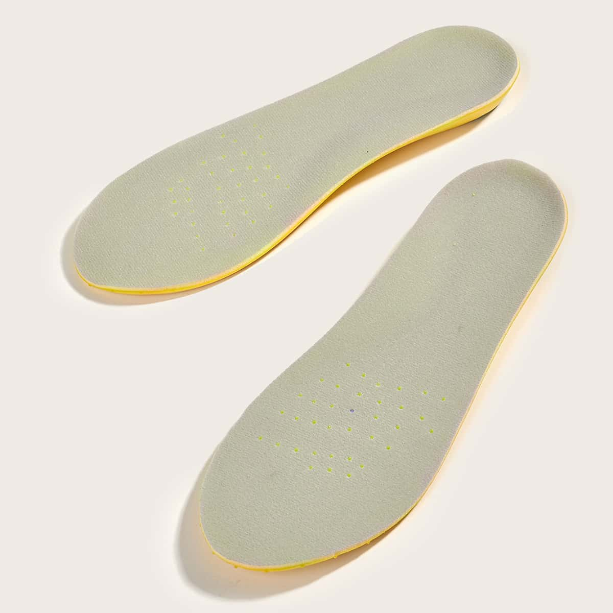 1pair Shock-absorbing Soft Insoles