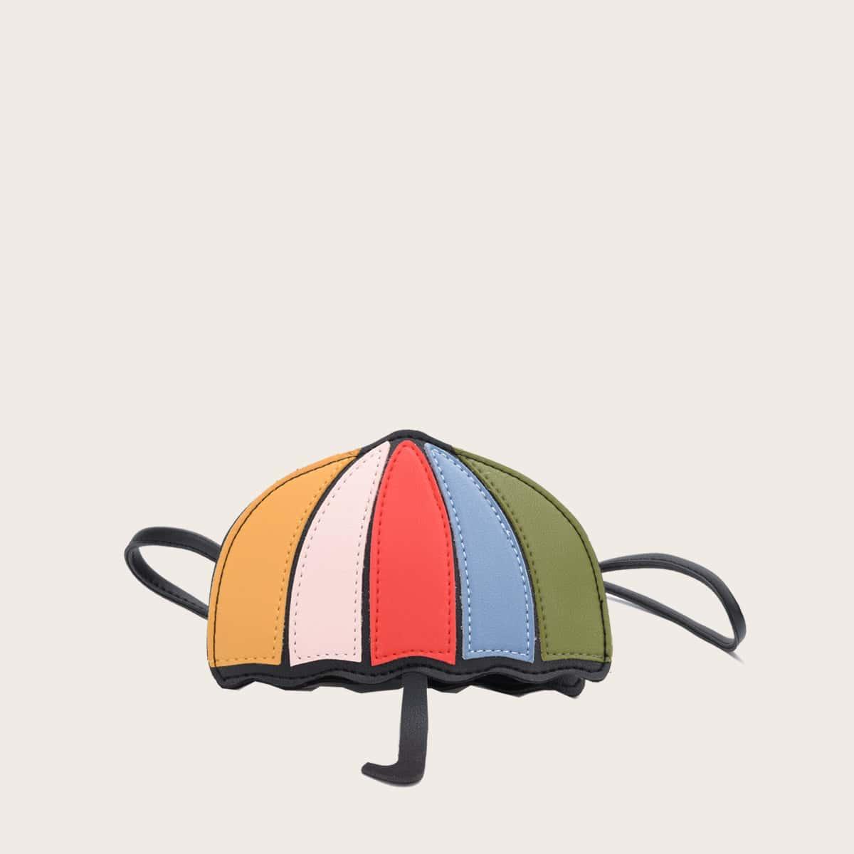 Girls Umbrella Shaped Crossbody Bag