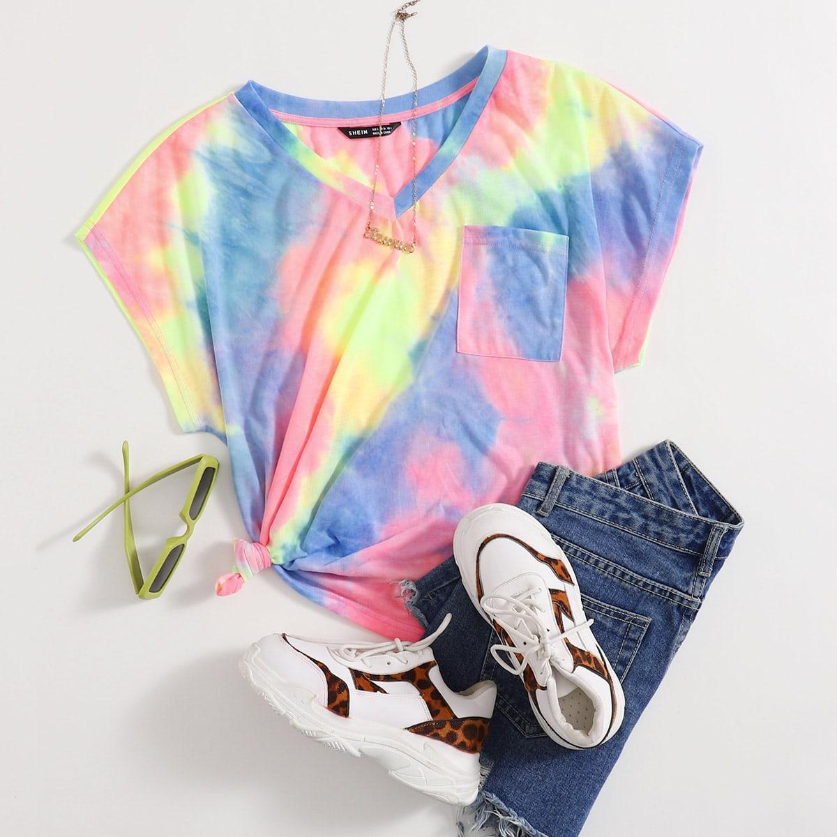 Casual Tie dye T-shirt Zak