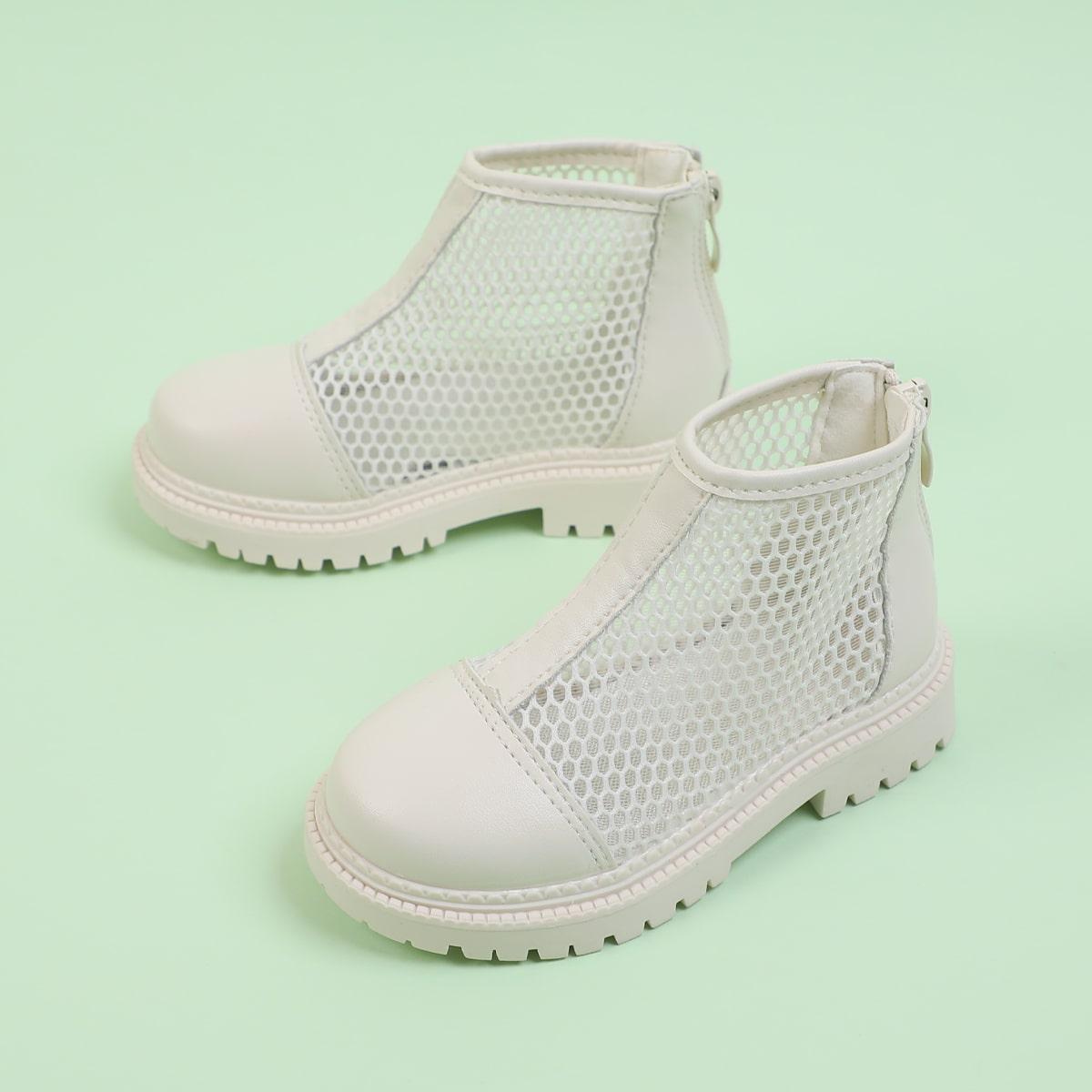 Минималистичные сапоги для девочек SheIn skshoes25210413598