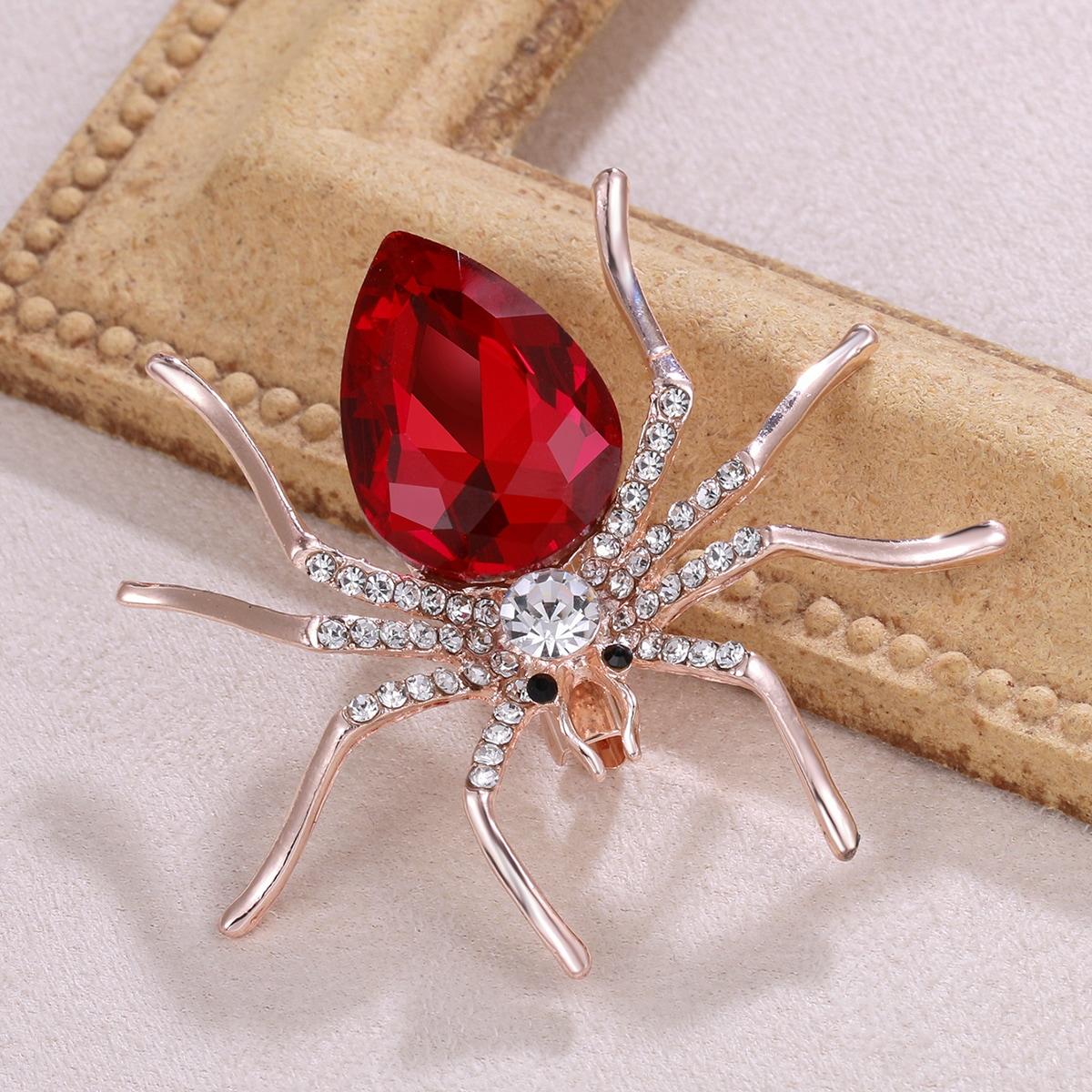 Brosche mit Spinne Design