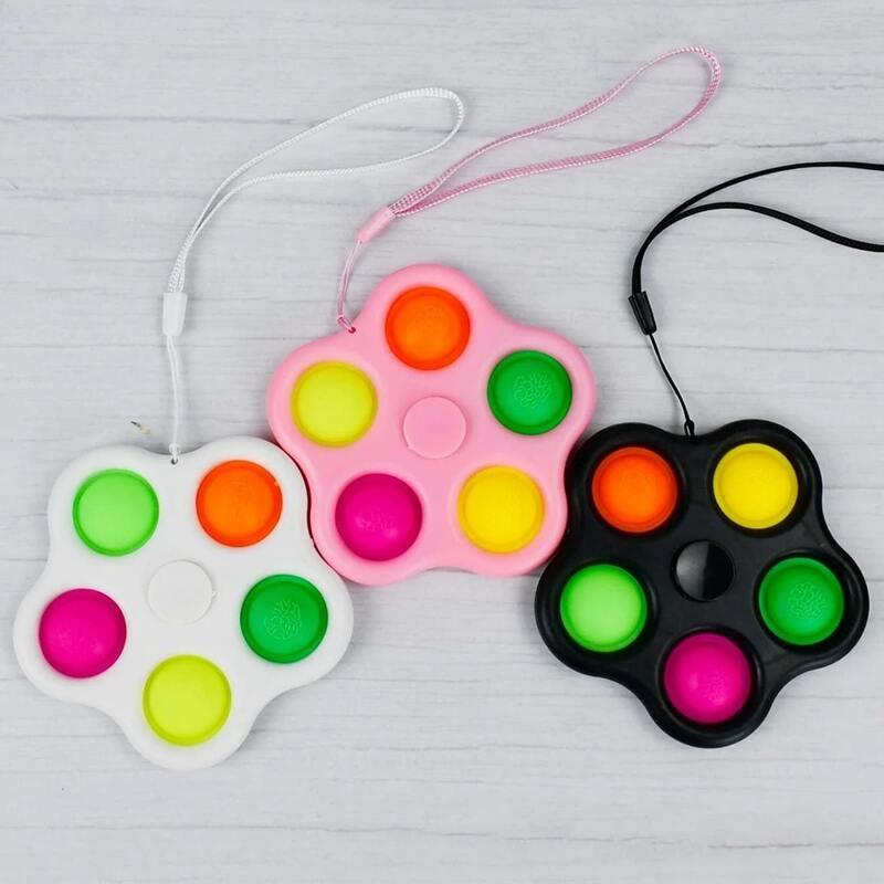 1pc Random Stress Relief Bubble Toy, Multicolor
