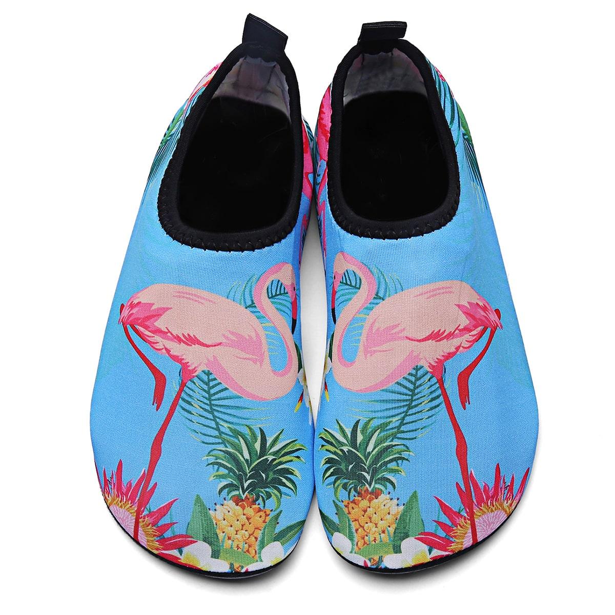 Водные туфли с узором фламинго для мальчиков от SHEIN
