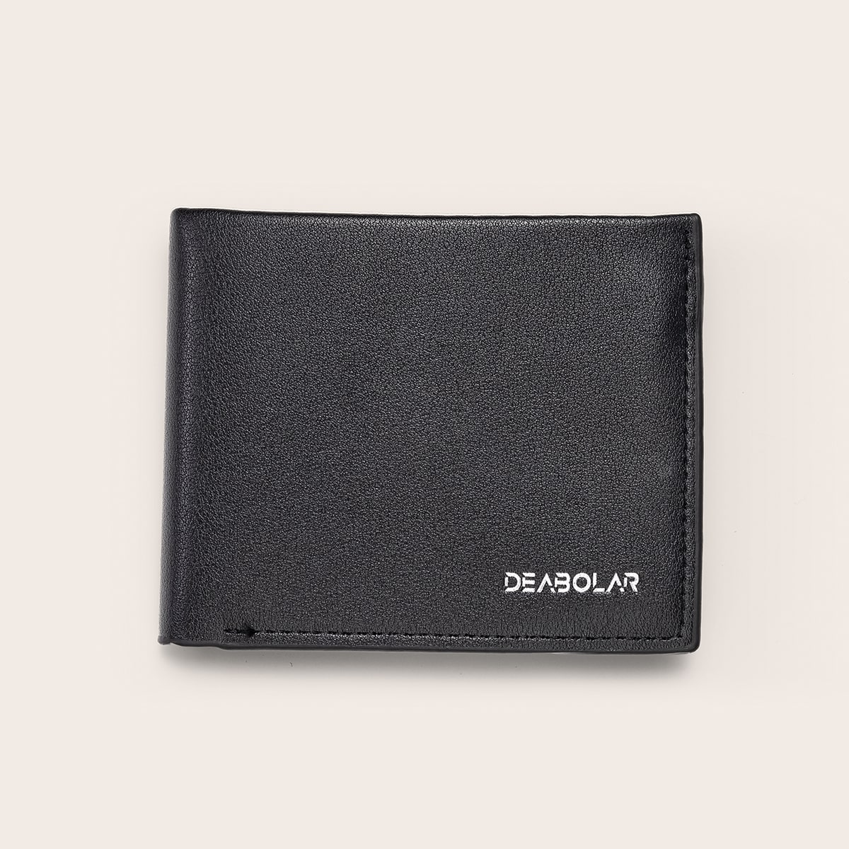 Мужские маленький кошелек с текстовым узором