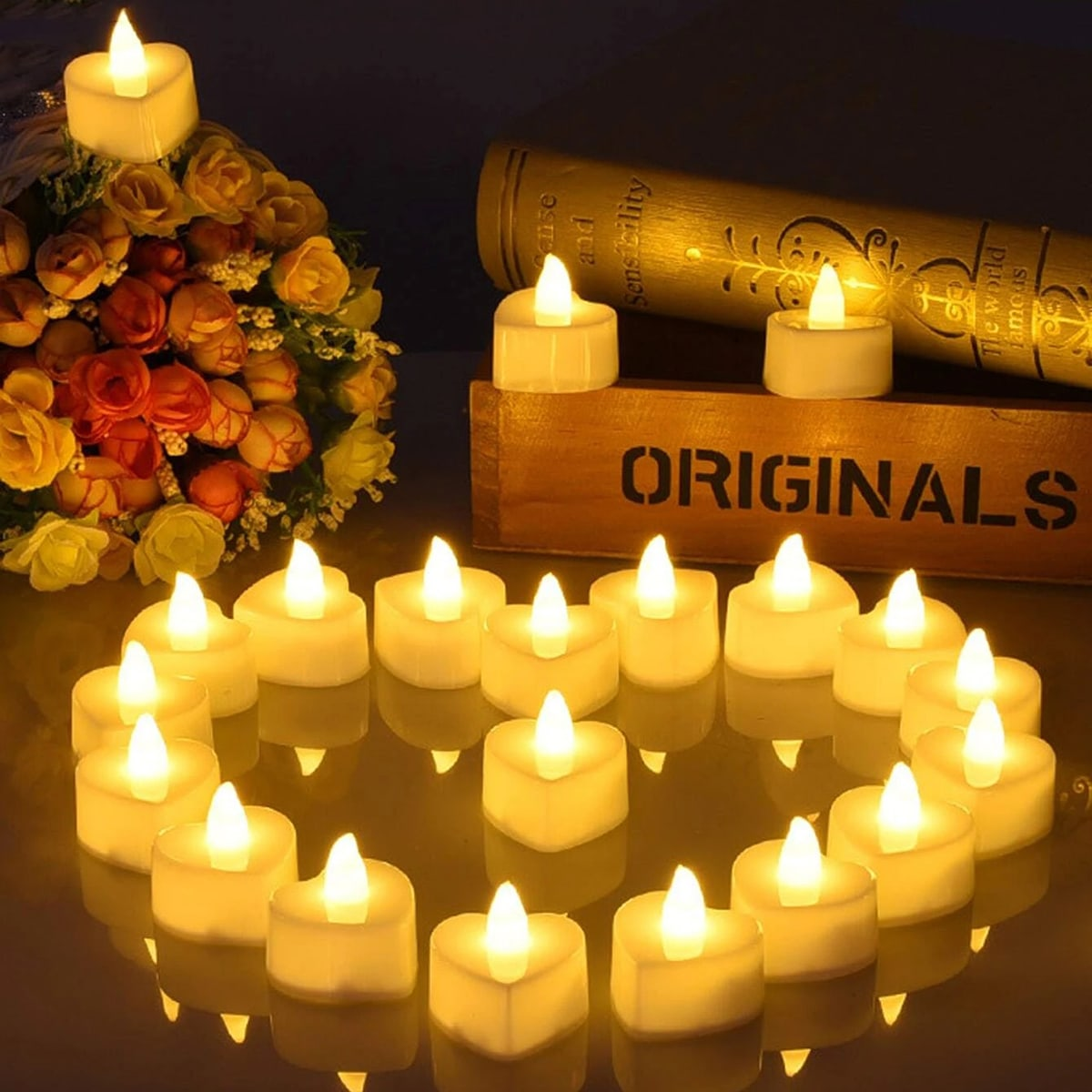 Candle Shaped Decorative Light, SHEIN  - buy with discount