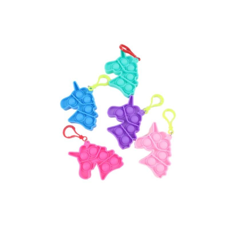 1pc Random Unicorn Stress Relief Bubble Toy, Multicolor