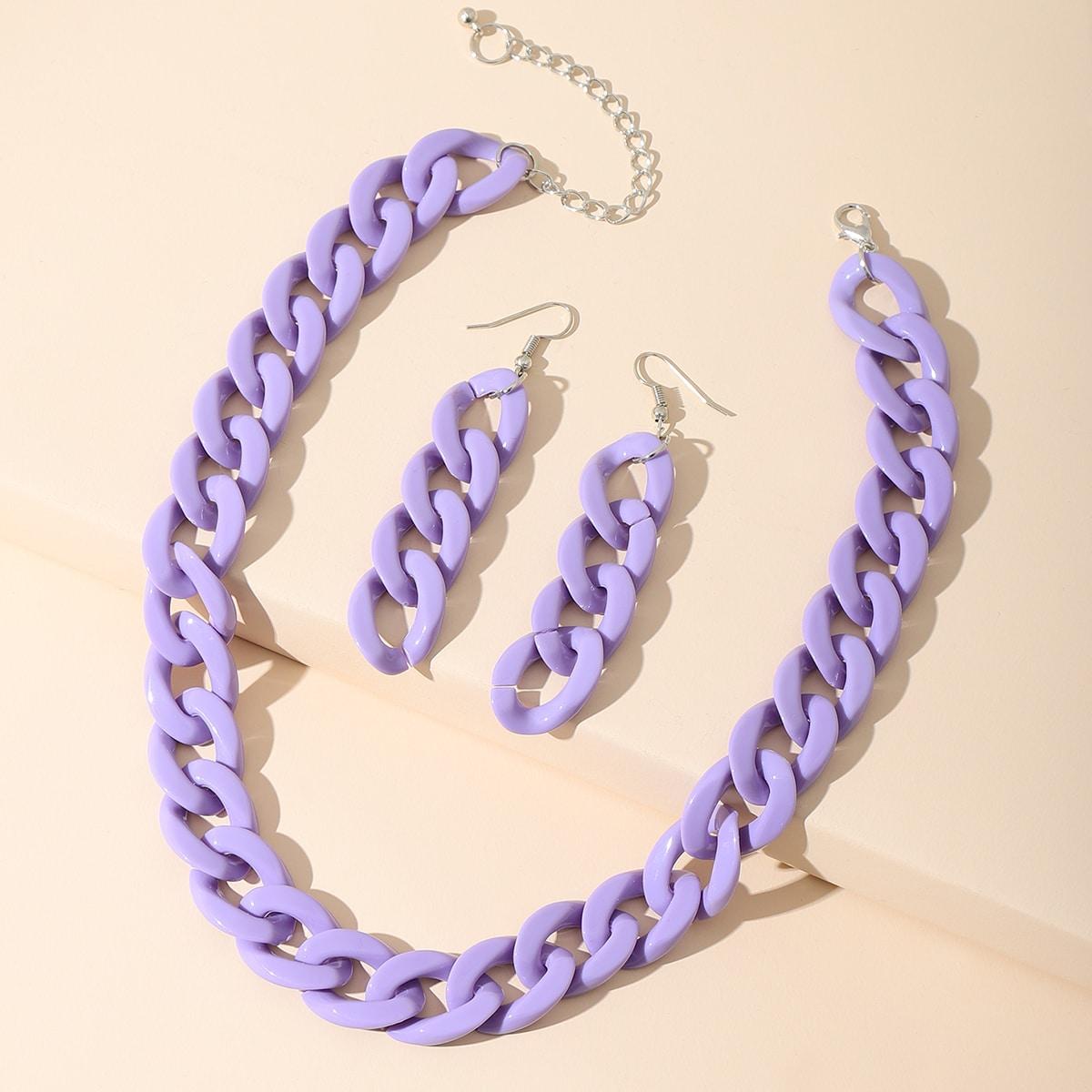3pcs Chain Jewelry Set