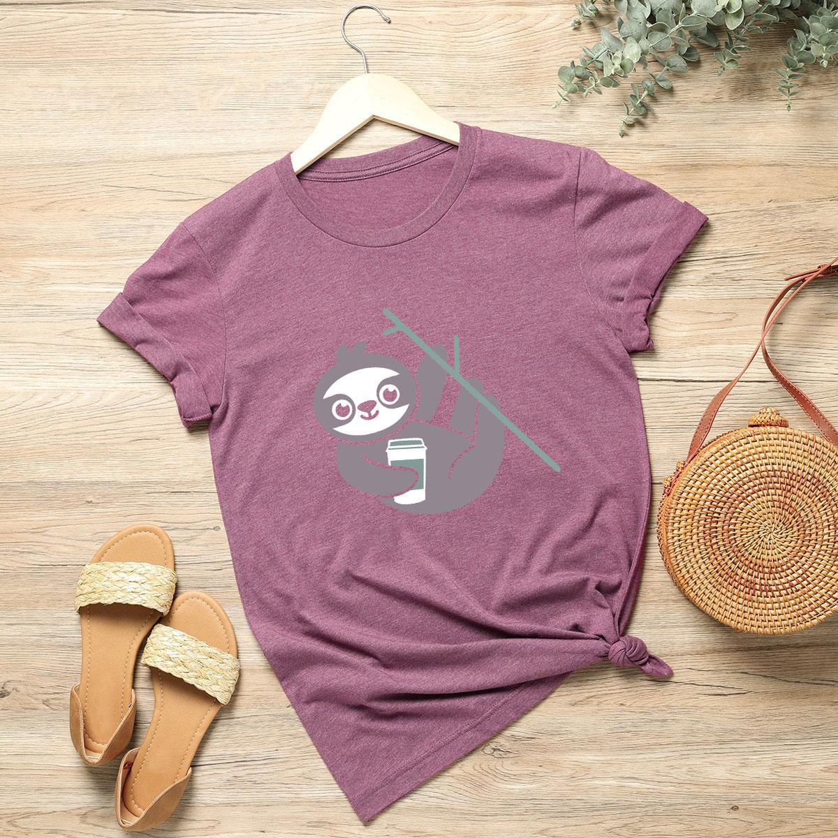 Camisetas de Tallas grandes Dibujos animados Casual