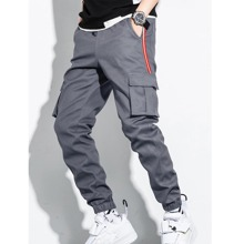 Guys Striped Side Cargo Pants