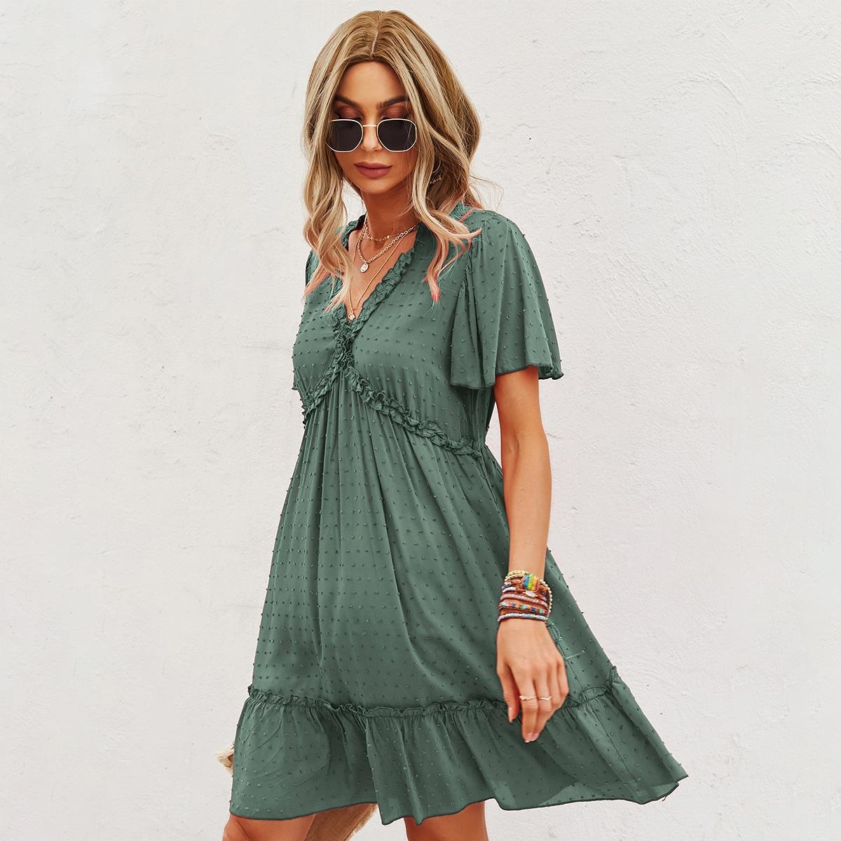 Платье в горошек SheIn swdress23210422083