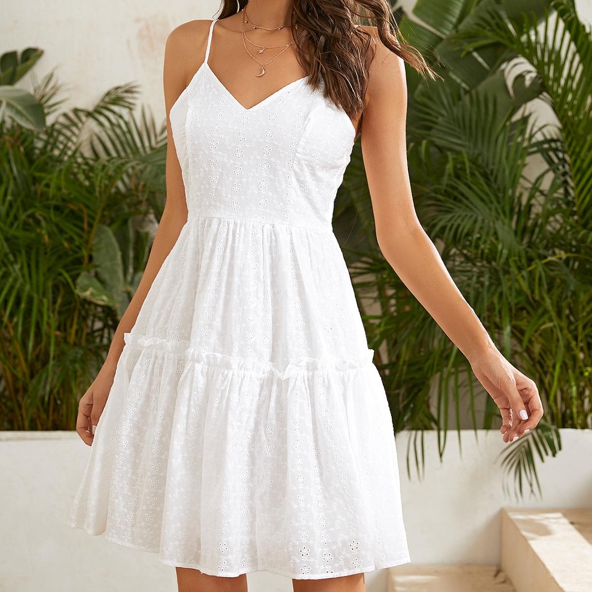 Платье на бретелях SheIn swdress07210303850
