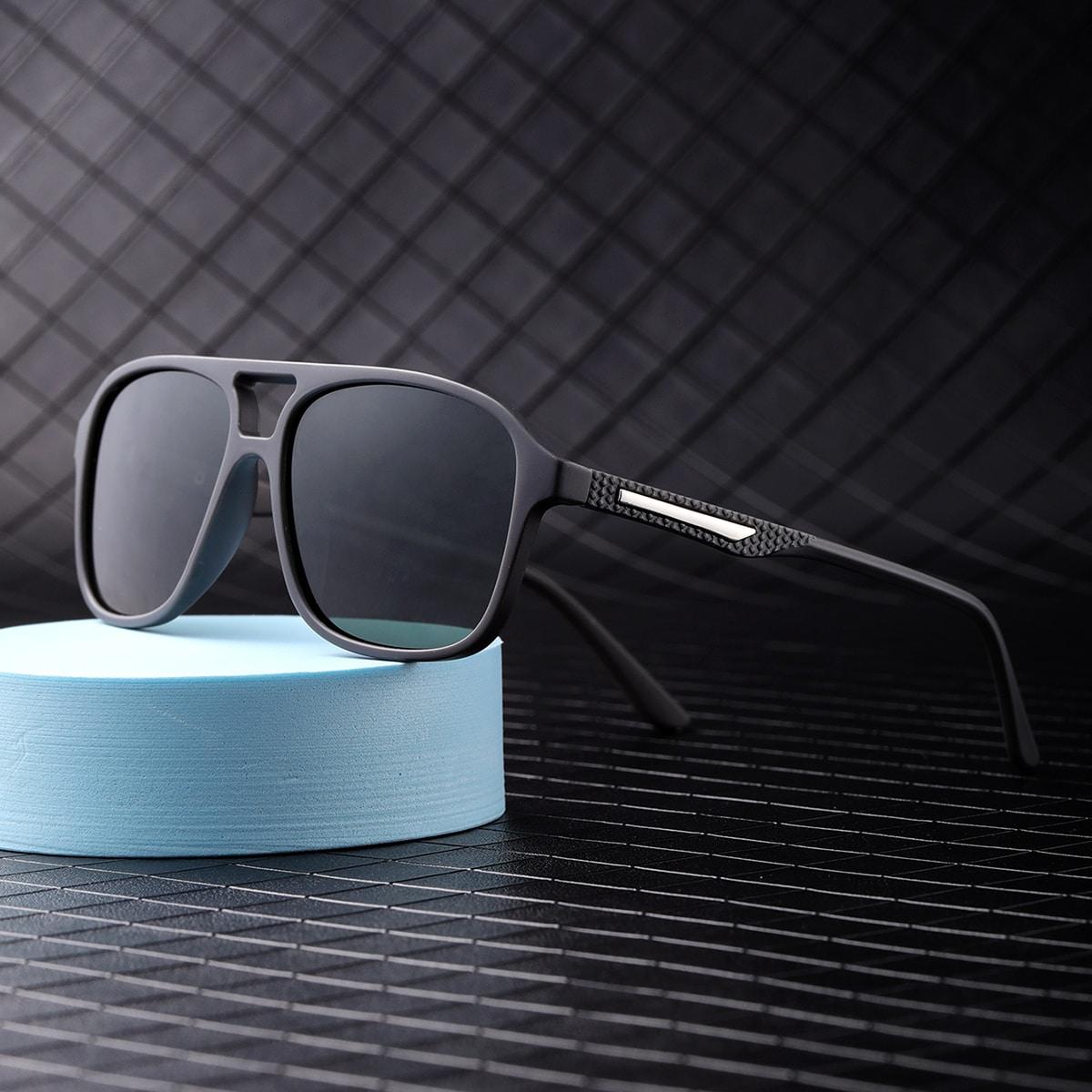 Gafas de sol polarizadas con montura acrílica para hombre