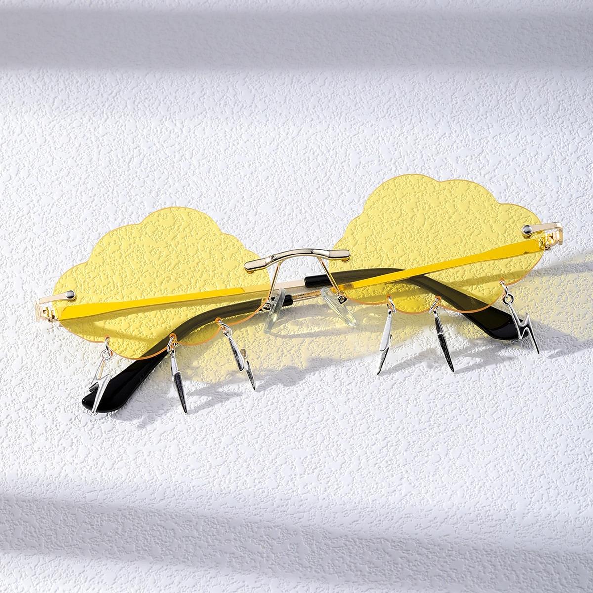 Gafas de sol con diseño de nube para hombre