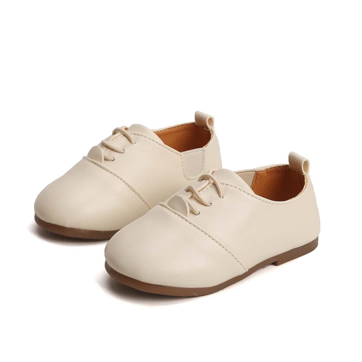 Туфли на шнурке для мальчиков от SHEIN