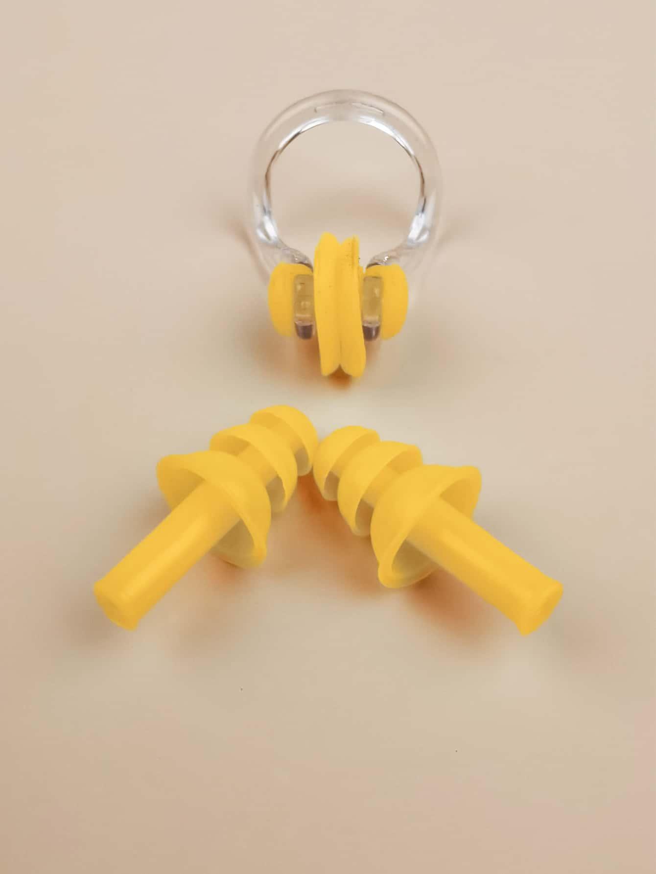 Водонепроницаемый зажим для носа и беруши для плавания swbecacc18210427403