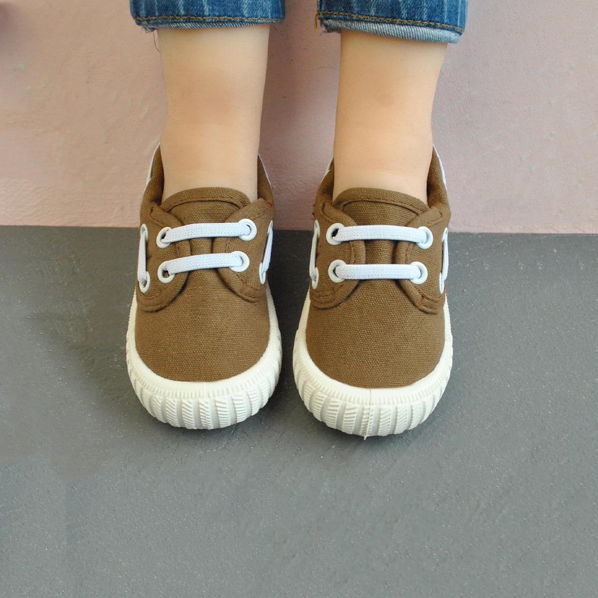 для мальчиков Холщовые туфли без шнурков от SHEIN