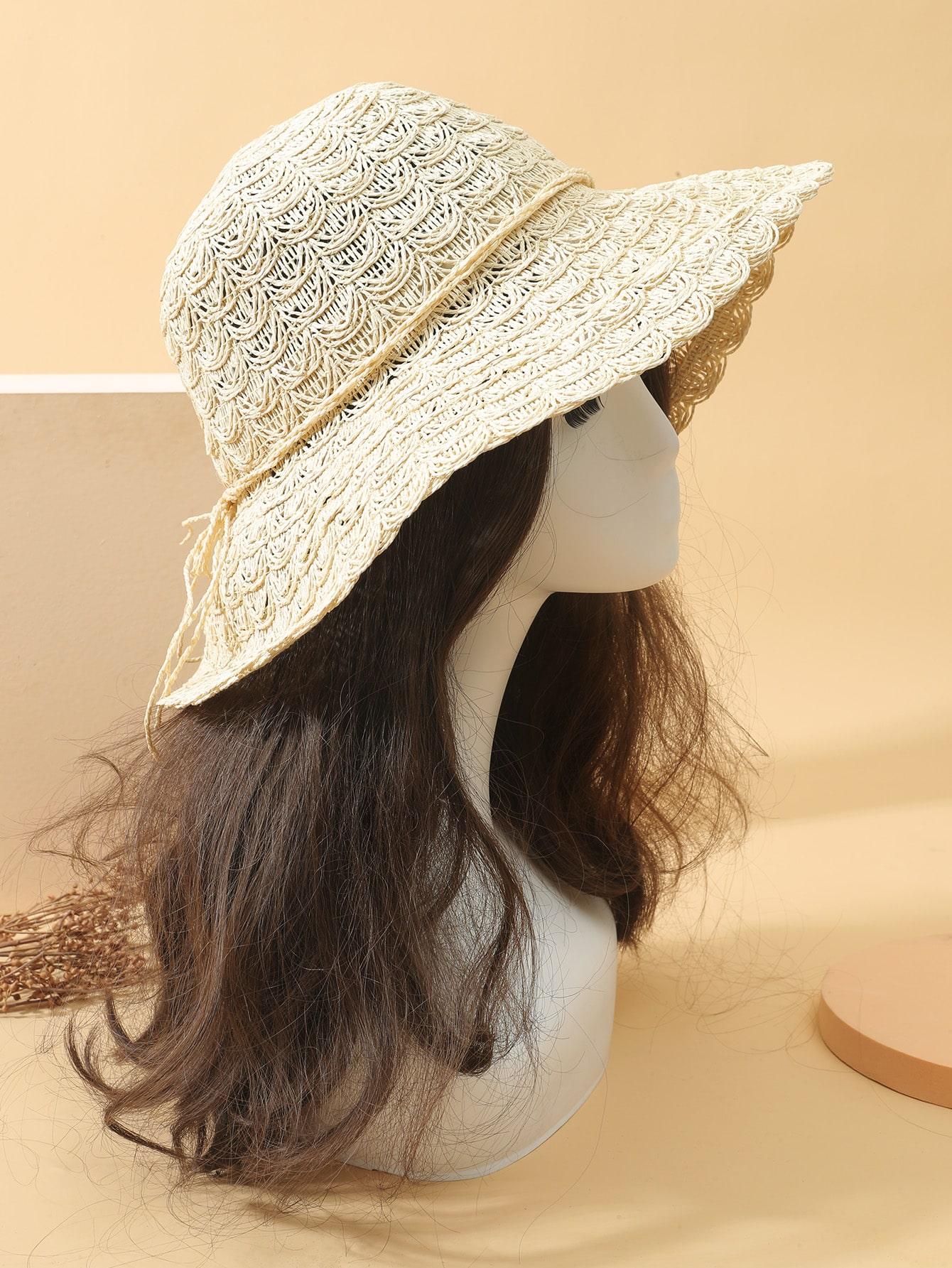 simple straw hat