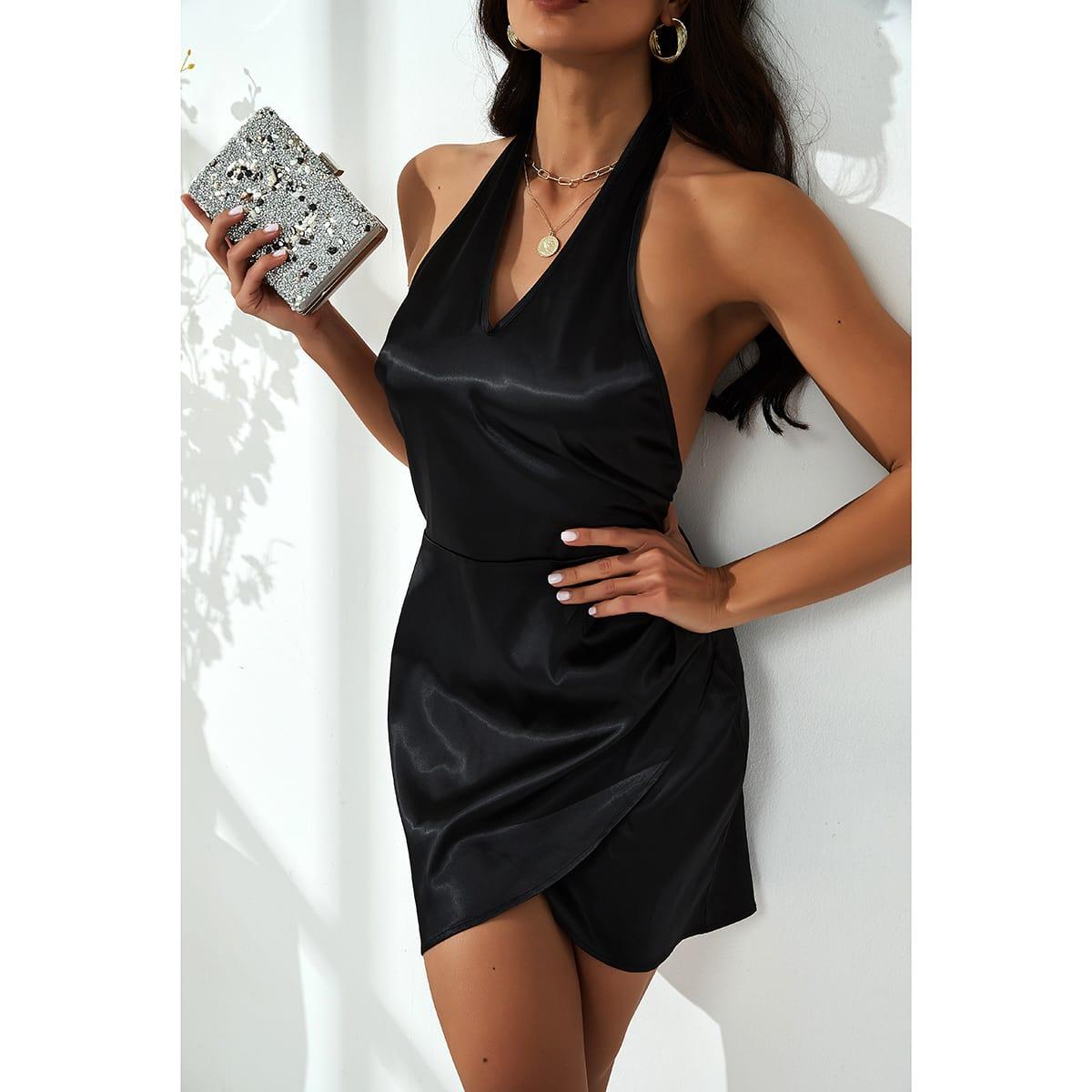 Платье с вырезом на спине SheIn swdress02210317038