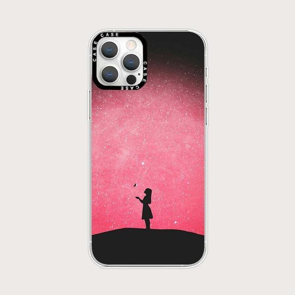 Starry Sky Phone Case, Multicolor