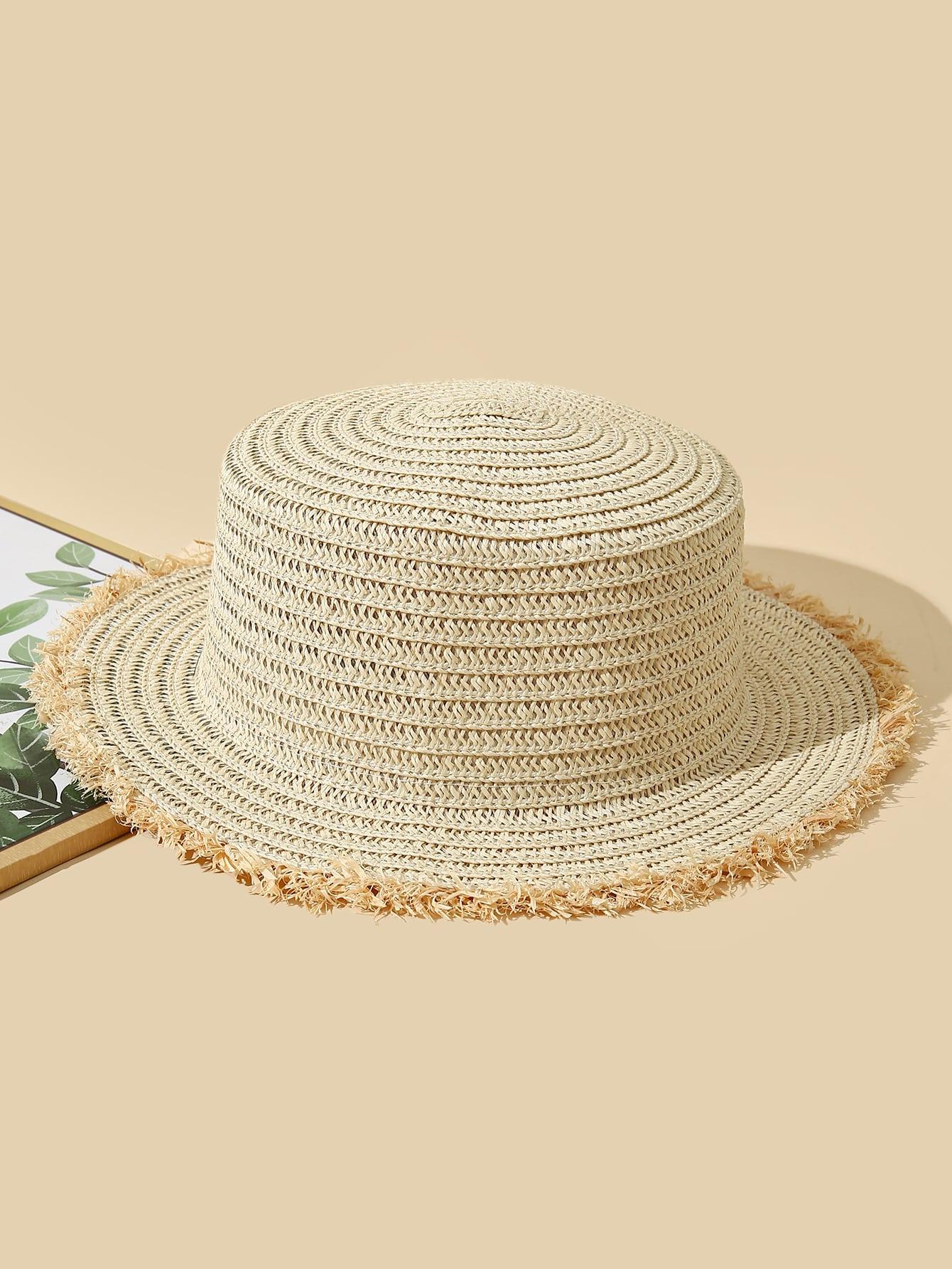 sun protection straw hat