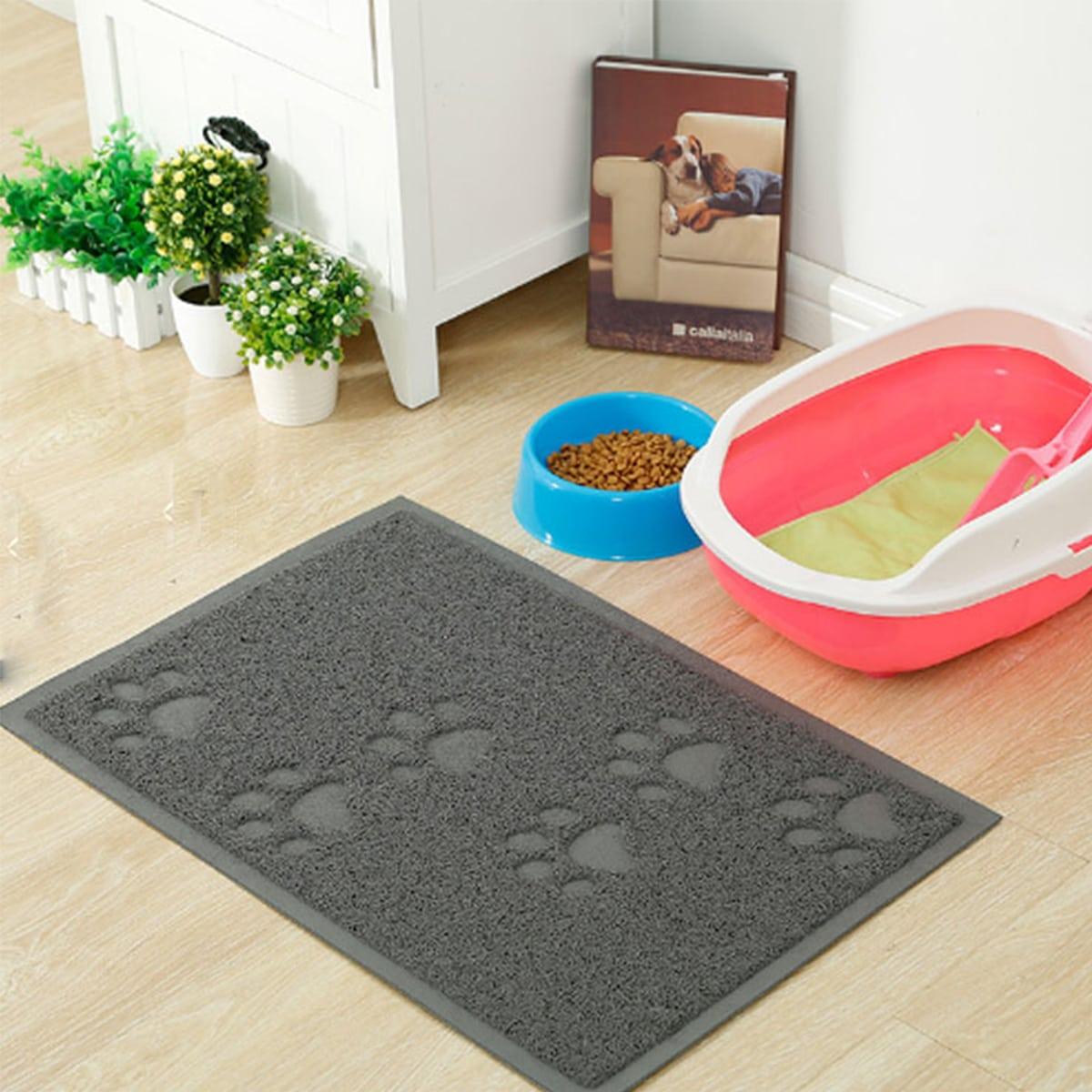 1шт коврик для кошачьего туалета с принтом когтя