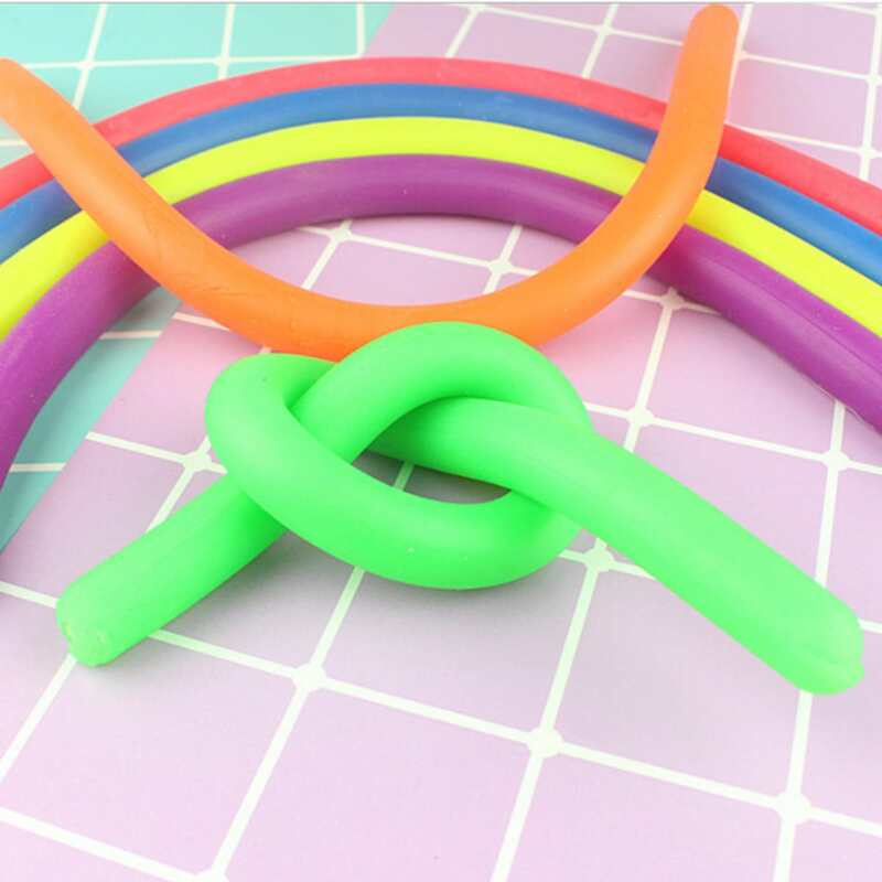 4pcs Random Stress Relief Tube Toy, Multicolor