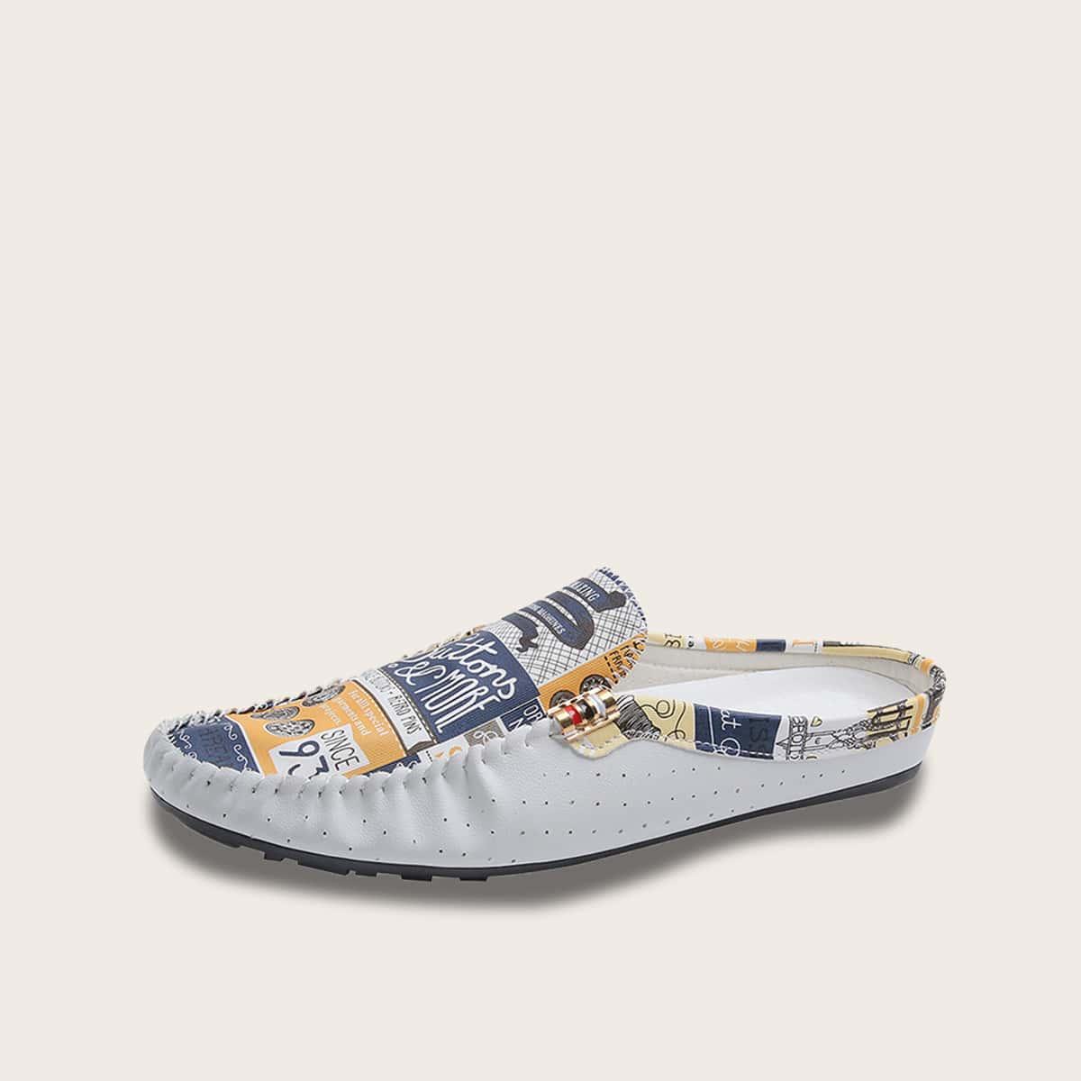 حذاء بدون كعب للرجال