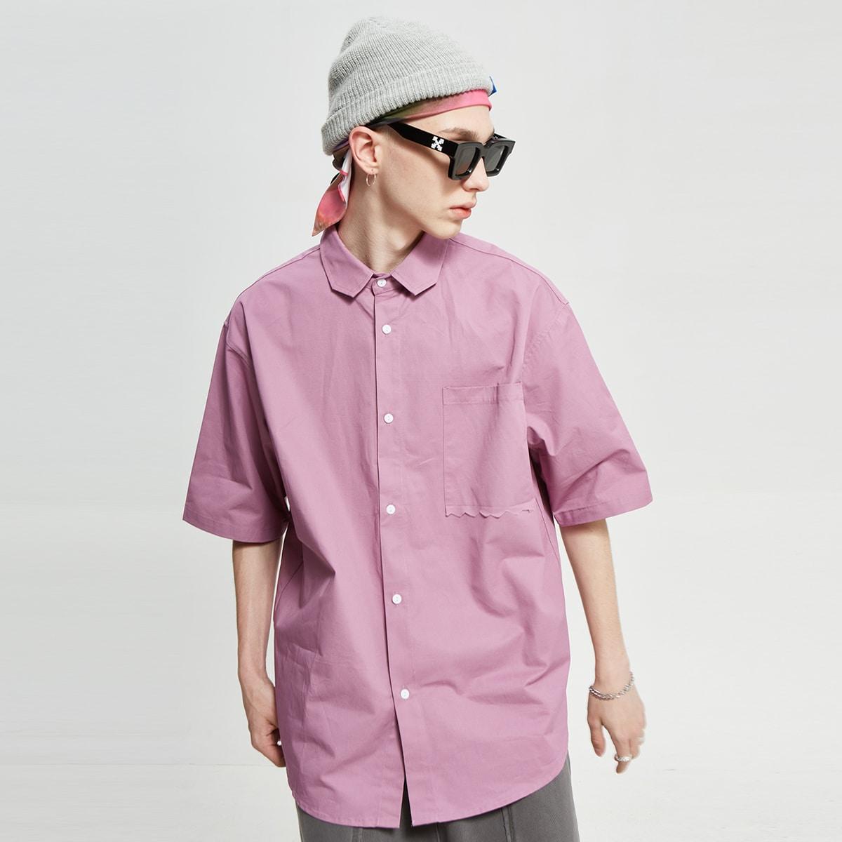 Мужская рубашка с карманом по цене 1 850