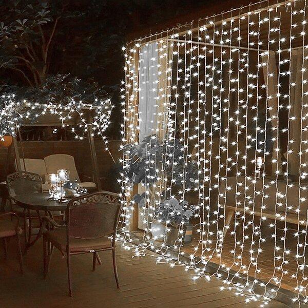 1pc 10m String Light With 100pcs Bulb, White