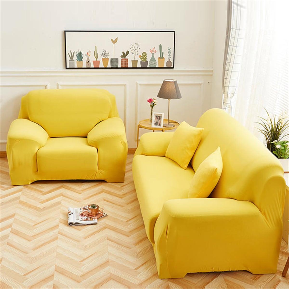Einfacher Sofabezug & 1 Stück Kissenbezug ohne Füllstoff