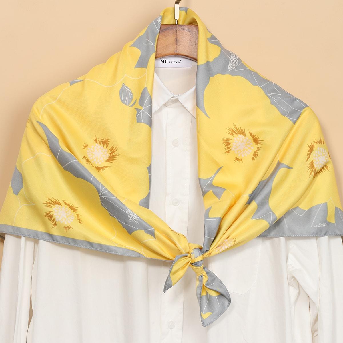 1шт платок с рисунком
