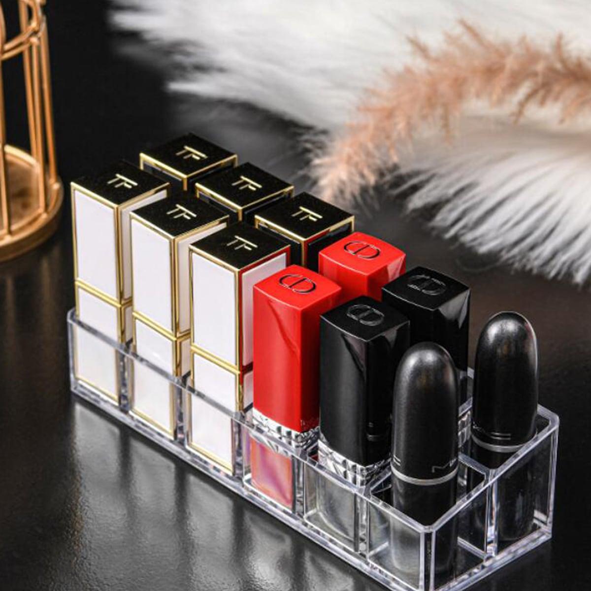 1pc Clear Lipstick Storage Box
