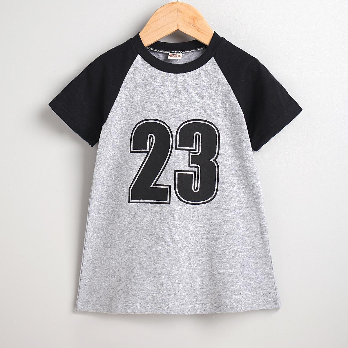для девочек с текстовым принтом Бейсбольная футболка Платье от SHEIN