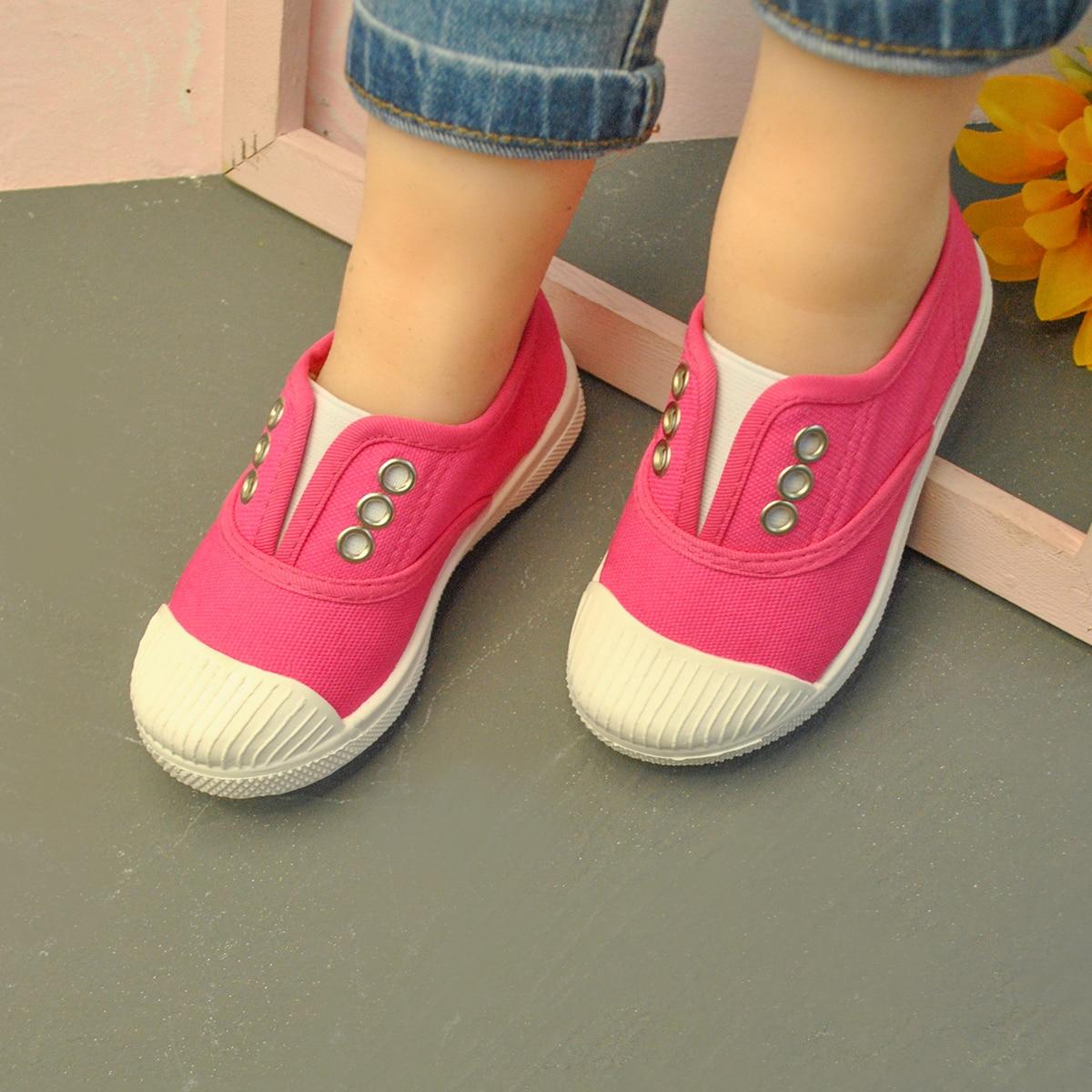 Холщовые туфли для девочек от SHEIN