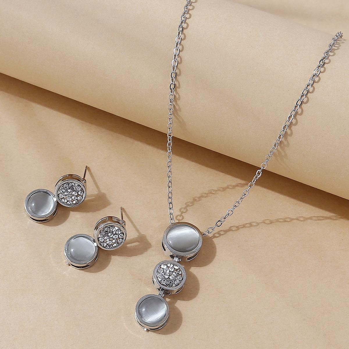 серебро Модный Наборы