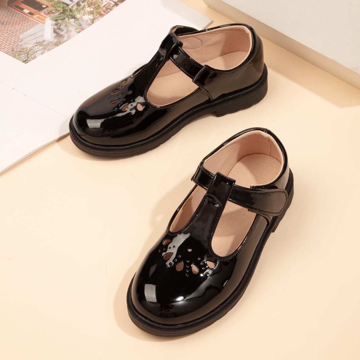 Туфли на плоской подошве для девочек от SHEIN