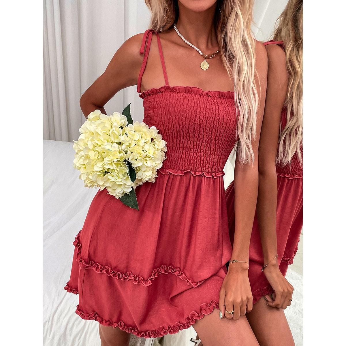 Платье на бретелях SheIn swdress23210430872