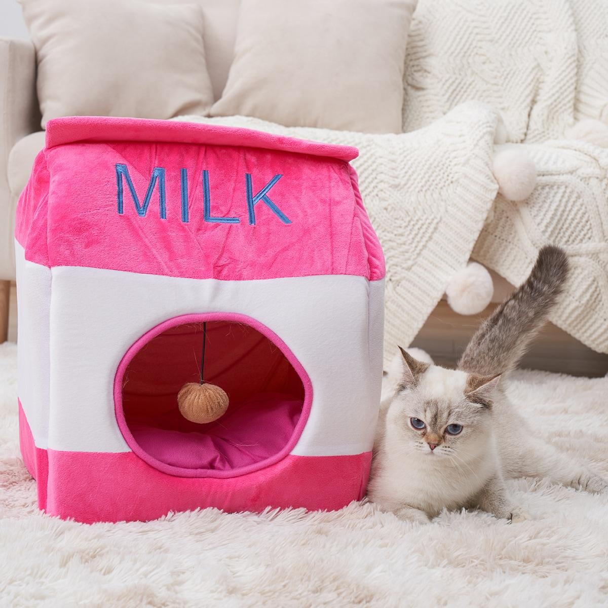 Milk Box Design Pet Bed