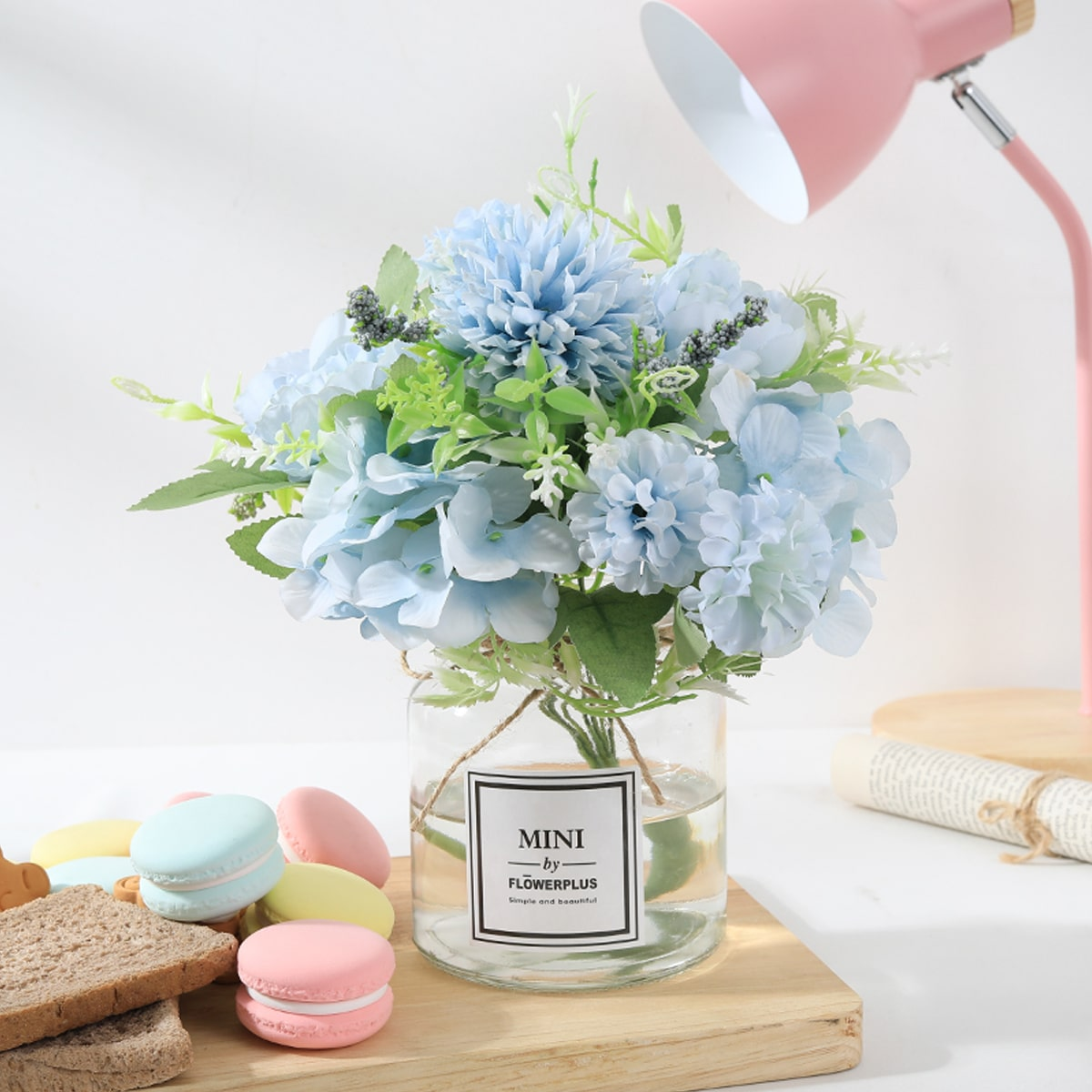 1bundle Artificial Hydrangea With Head, SHEIN  - buy with discount