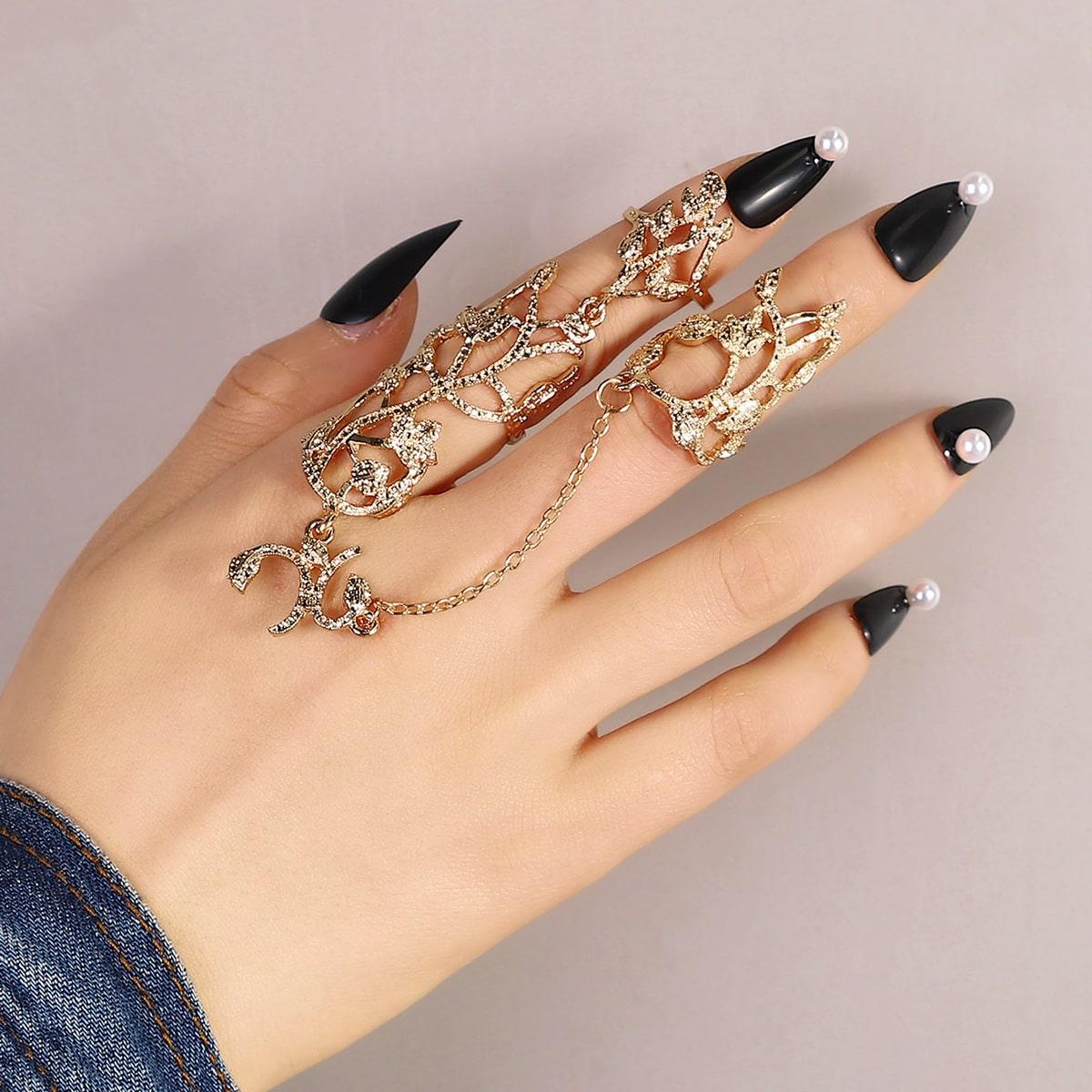 Кольцо варежки от SHEIN