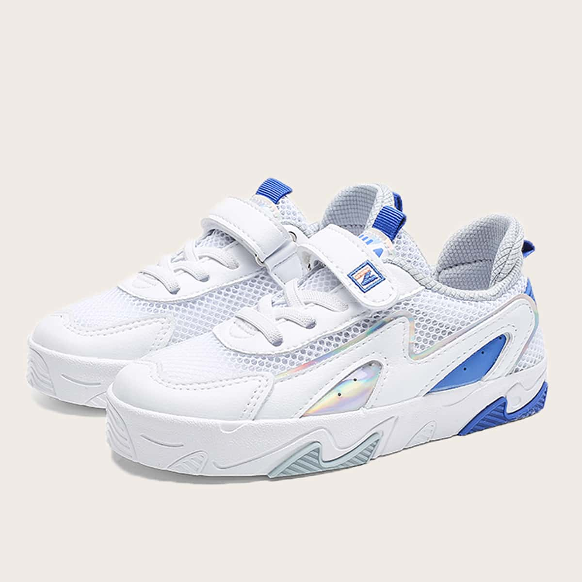 Сетчатая обувь для скейтбординг на липучке для мальиков