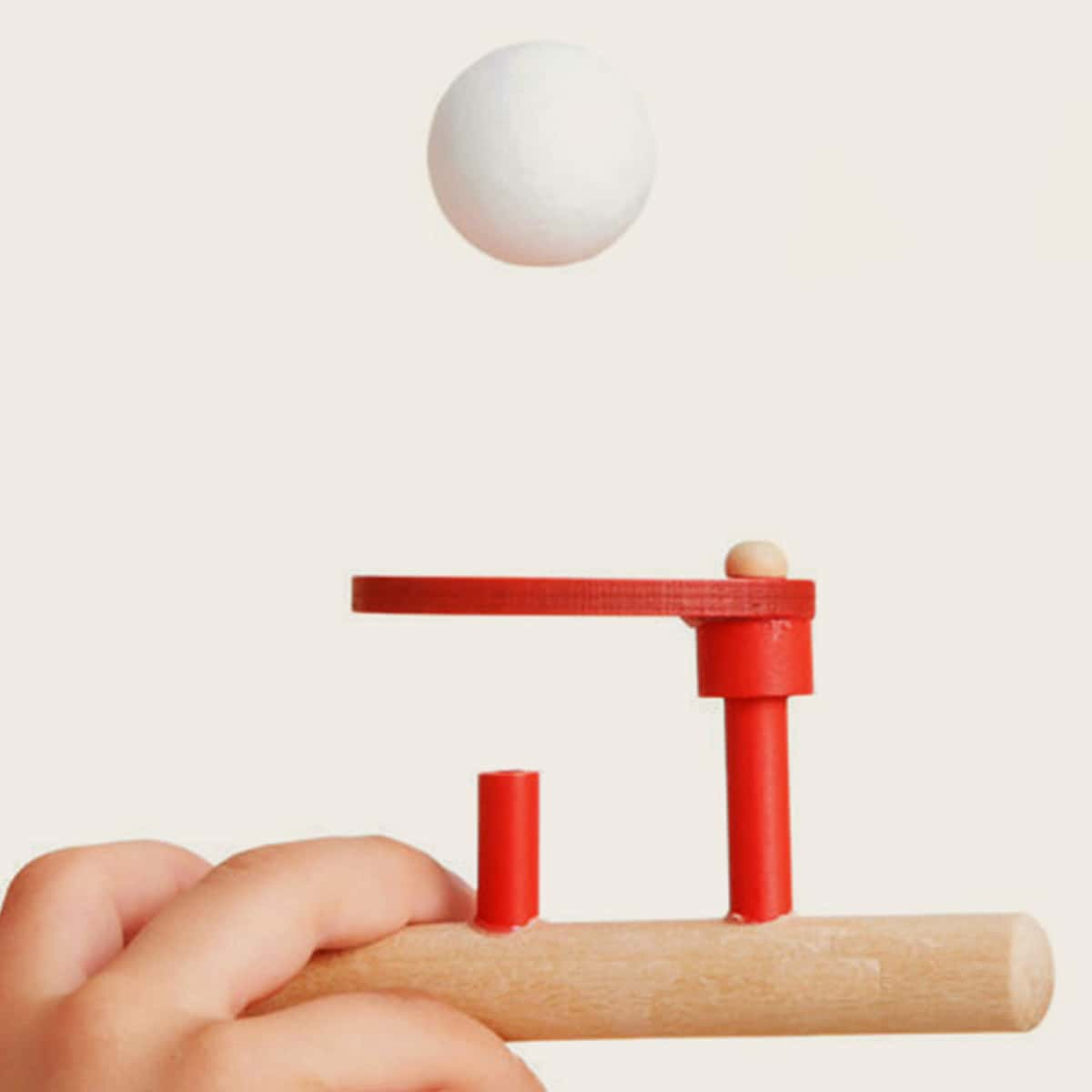 1set Wooden Foam Blowing Game