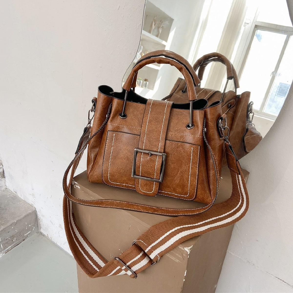 Vintage Design Tote Bag