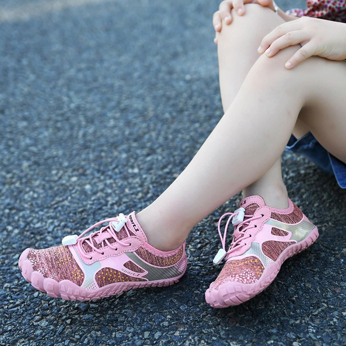 Нескользящие водные туфли на кулиске для девочек от SHEIN