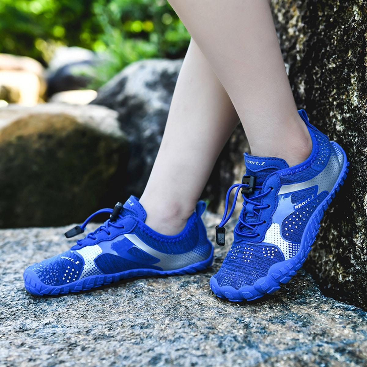Нескользящие водные туфли для мальчиков на шнурке от SHEIN