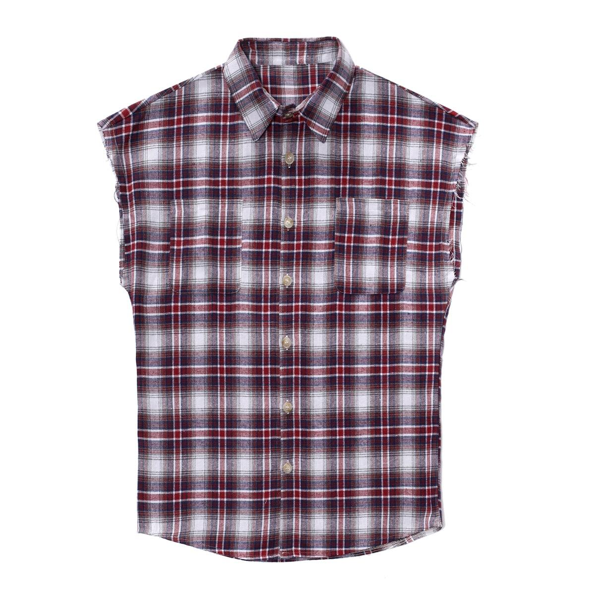 Карман Клетчатый Институтский Мужские рубашки